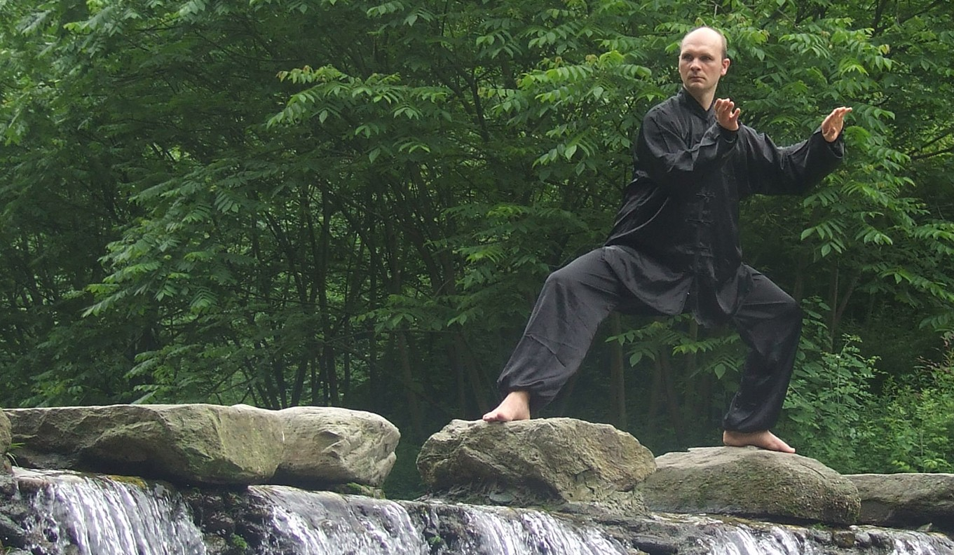 Tai Chi Florian Winler Wudang Wasserfall